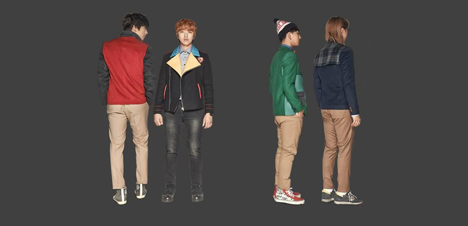 [OFFICIAL] B1A4 for 'SMART' school uniform - B1A4 Photo ... B1a4 Sandeul And Baro