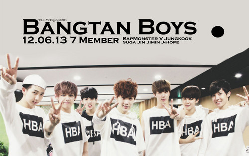 BTS wallpaper possibly with a portrait called ♥ Bangtan Boys!~ ♥