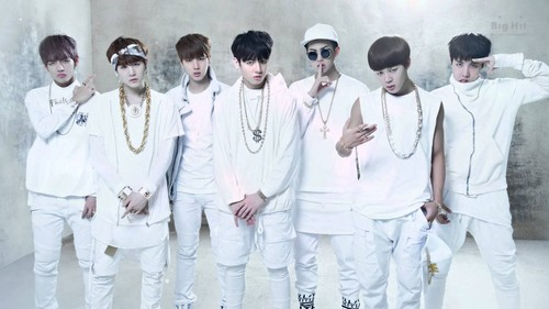 BTS wolpeyper entitled ♥ Bangtan Boys!~ ♥