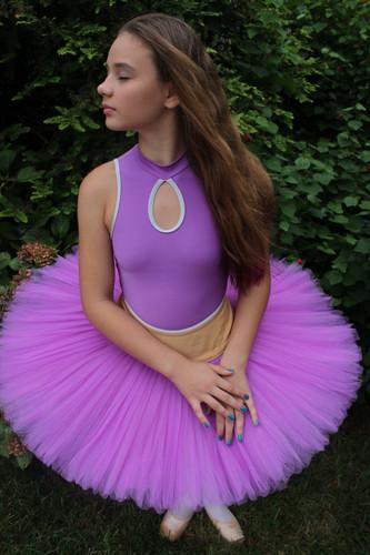 Ballet wallpaper called purple tutu