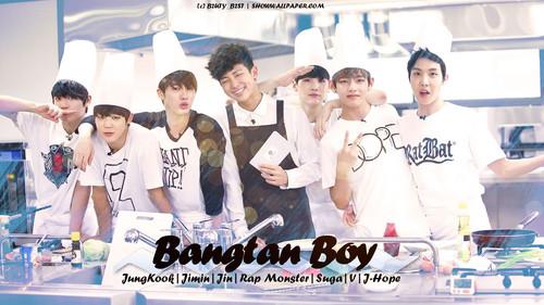 bangtan boys wallpaper probably containing a sign entitled ♥ º ☆.¸¸.•´¯`♥ Bangtan Boys ♥ º ☆.¸¸.•´¯`♥
