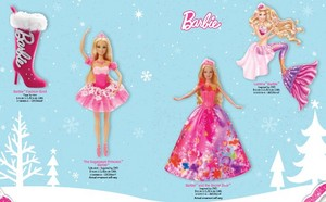 2014 barbie natal Ornaments Collection