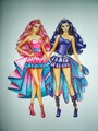 Barbie Tori and Keira - barbie-movies fan art