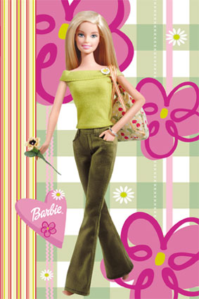 Barbie wallpaper possibly containing bare legs, hosiery, and tights entitled angel radcliffe