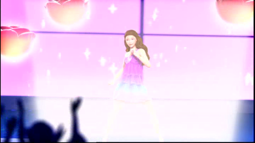 Barbie the Princess and the popstar wallpaper called popstar keira