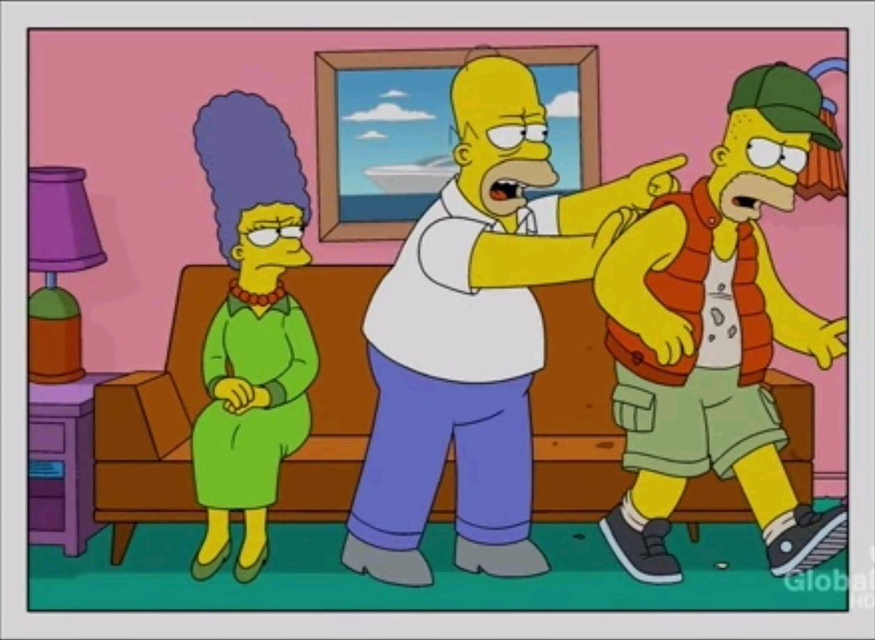 Симпсоны голие картинки барта 25 фотография