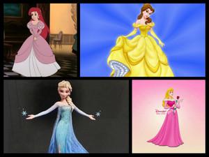 Bell,Elas,Ariel and Auroura