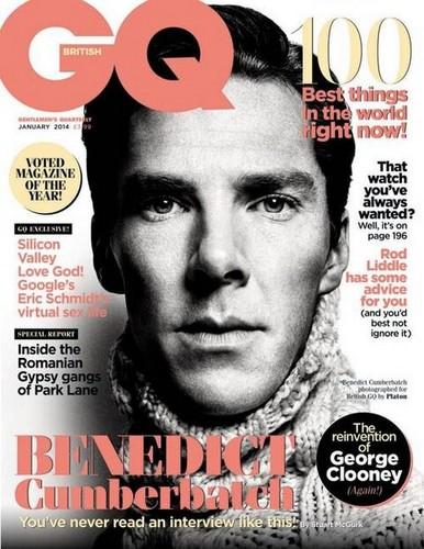 Benedict Cumberbatch wallpaper containing anime called Benedict - GQ Magazine
