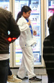 NEW PHOTOS* (Dec. 9) Blanket Jackson enjoys ice cream with Prince after winning new karate belt - blanket-jackson photo