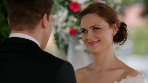 Bones wallpaper with a business suit called Bones/Booth Wedding