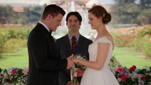 Bones/Booth Wedding