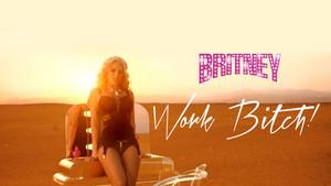 Britney Spears Work jalang, perempuan jalang !