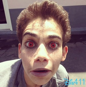 A creepy vamp