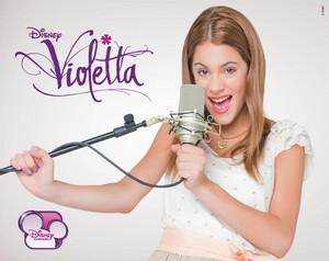violeta Disney