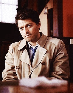 Castiel wallpaper containing a business suit titled ♦ Castiel ♦