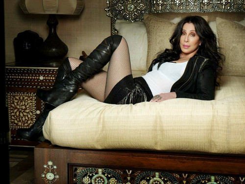 Cher پیپر وال containing bare legs, hosiery, and a living room entitled Cher - Closer To The Truth