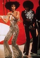 Cher Dancing With Michael Jackson On Her প্রদর্শনী Back In 1975