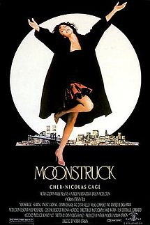 "Movie Poster For The 1987 Film, ""Moonstruck"""