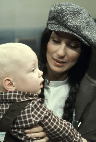 Cher And Baby Son, Elijah Allman