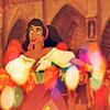 Esmeralda smiling