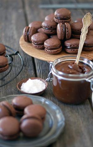 Schokolade Macaroons
