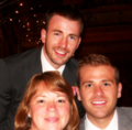 Chris Evans&Family