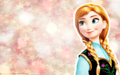 disney-princess - Christmas - Anna wallpaper