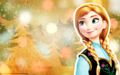 disney-princess - Christmas - Anna wallpaper