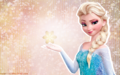 disney-princess - Christmas - Elsa wallpaper