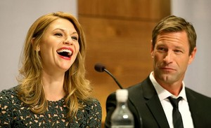 Claire Danes and Aaron Eckhart