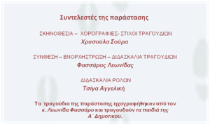 text for theater invitation