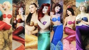 The little Mermaid Coslpay