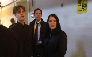 Thomas, Paget, Matthew // On set of Epi 200