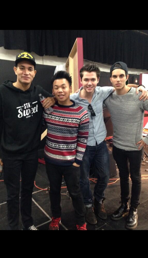 Damian, Samuel, Bryce and AJ