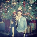 Damian and his friend Anna at Disneyland - damian-mcginty photo