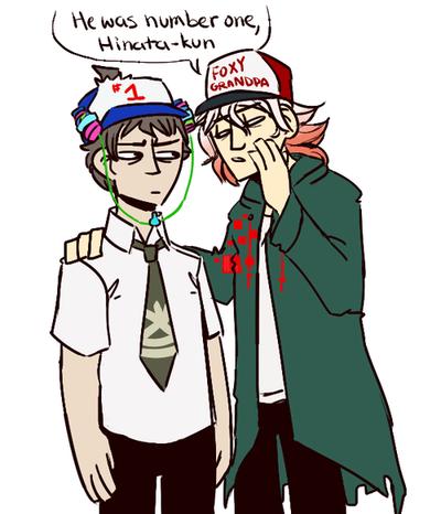 Hinata and Komaeda