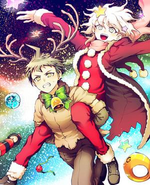 Komaeda and Hinata