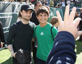 The New York Jets Vs. New England Patriots Game (20.10) - daniel-radcliffe photo