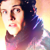 Daniel Sharman picha probably with a portrait entitled Isaac Lahey