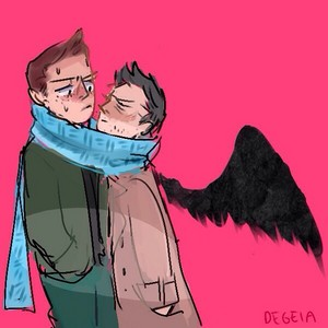 Dean and Castiel ✦