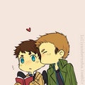 Dean and Castiel ♡ (1) - dean-and-castiel fan art