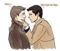 Dean and Castiel ★ - dean-and-castiel fan art