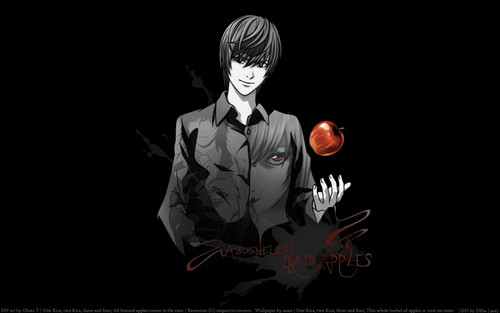 Death Note achtergrond titled Light Yagami achtergrond