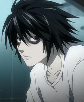 Death Note achtergrond called L Picture DN