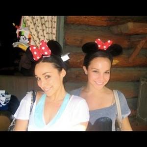 Dena with her sister Gemma