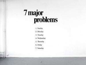 7 major problems