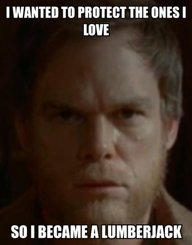 Dexter wallpaper with a portrait titled Dexter memes
