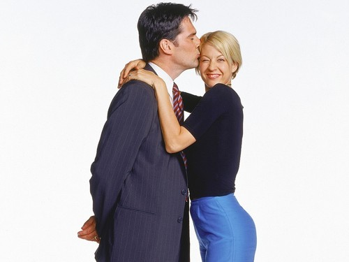 Dharma & Greg wallpaper containing a business suit, a well dressed person, and a suit called Dharma