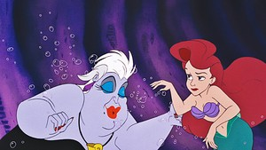 disney Princess Screencaps - Ursula & Princess Ariel
