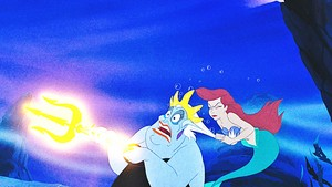 Дисней Princess Screencaps - Ursula & Princess Ariel
